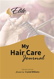 My hair care journal  cover image