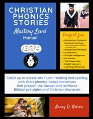 Christian Phonics Stories: Beginning to Mastery Level cover image