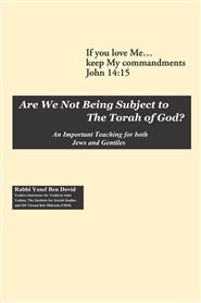 Are We Not Being Subject to the Torah of God? cover image