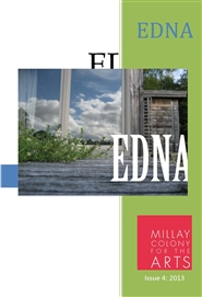 EDNA - A Journal of Art in Residence cover image