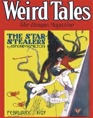Weird Tales 1929 February cover image