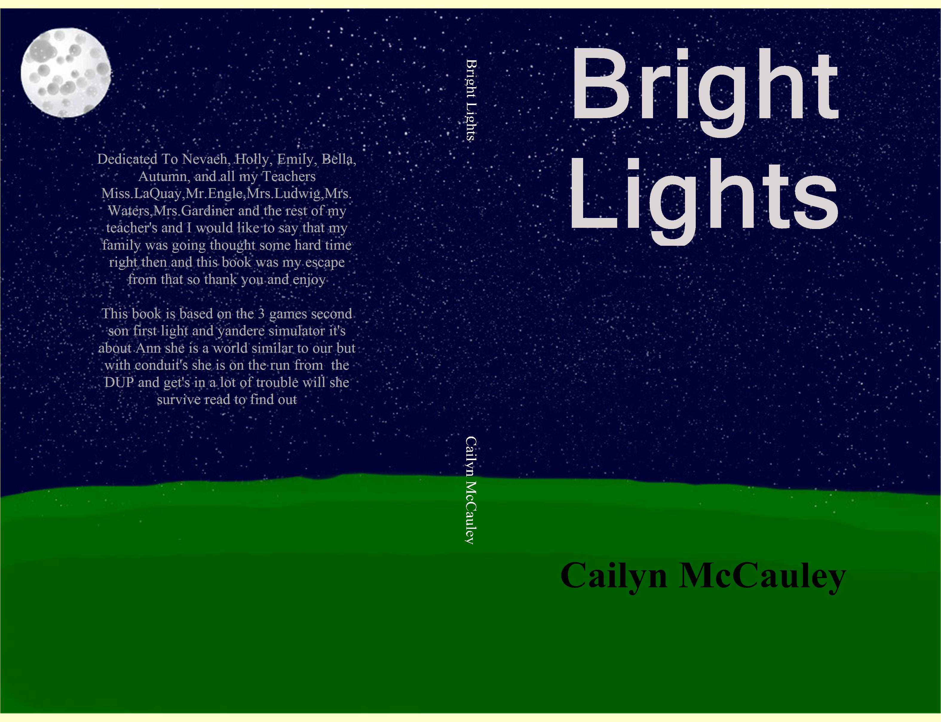 Bright Lights cover image