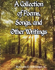 """A collection of poems and other writings by curtis schweiger jr"" cover image"