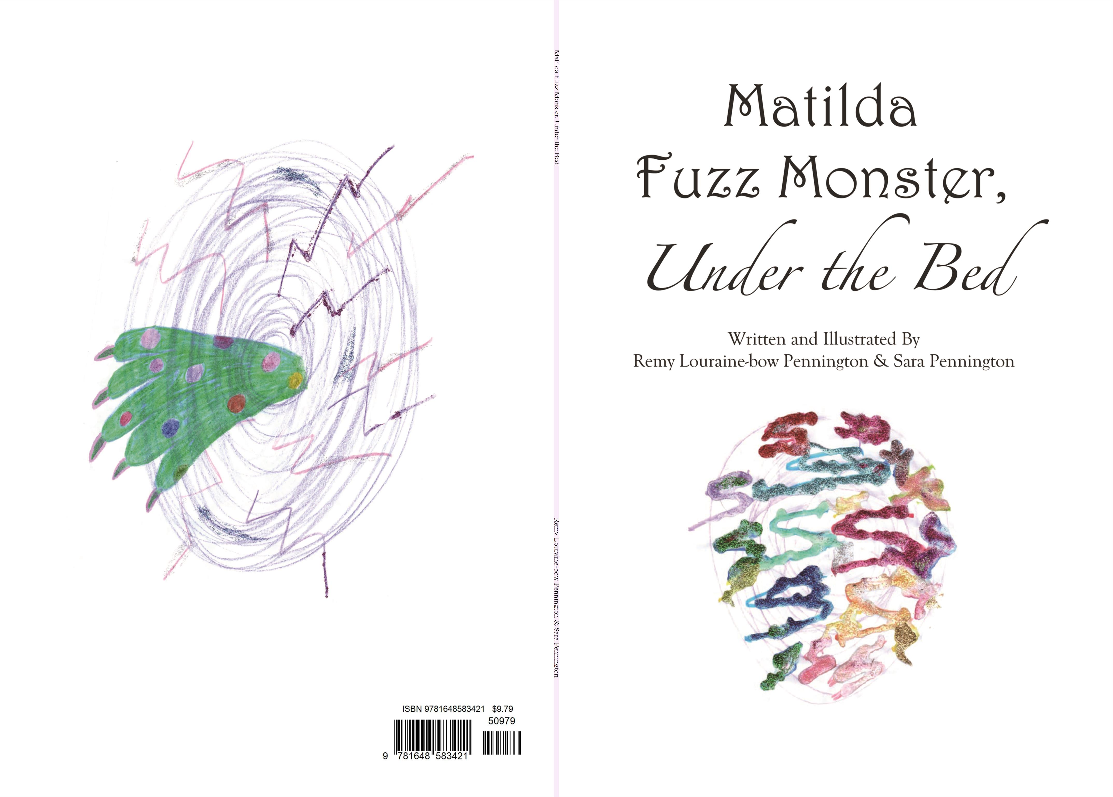 Matilda Fuzz Monster, Under the Bed cover image