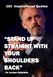 (Lined Journal) Dr Jordan Peterson: 101 Inspirational Quotes (Stand Up Straight) cover image