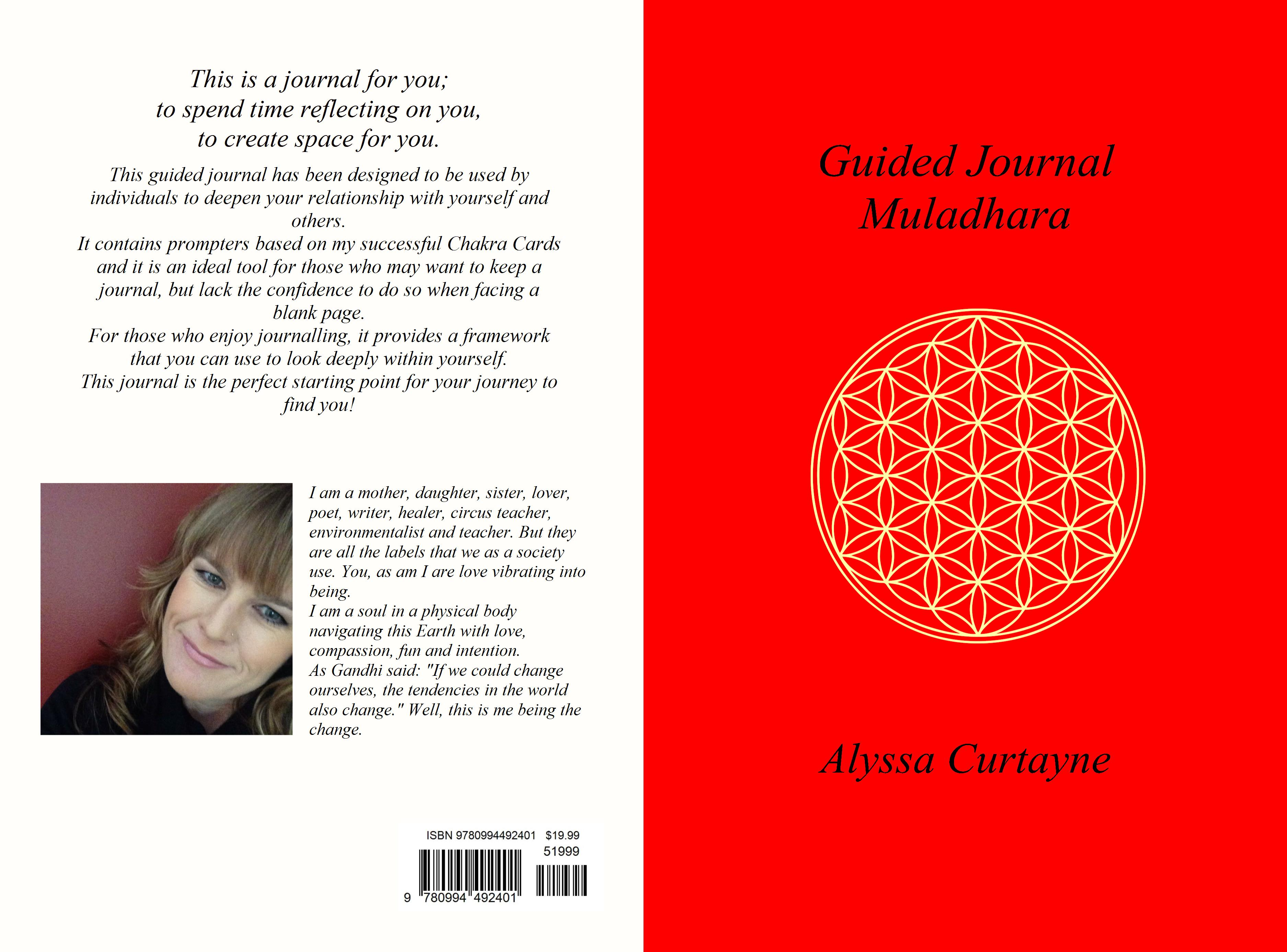 Guided Journal Muladhara cover image