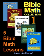 Bible Math Collection 1 cover image