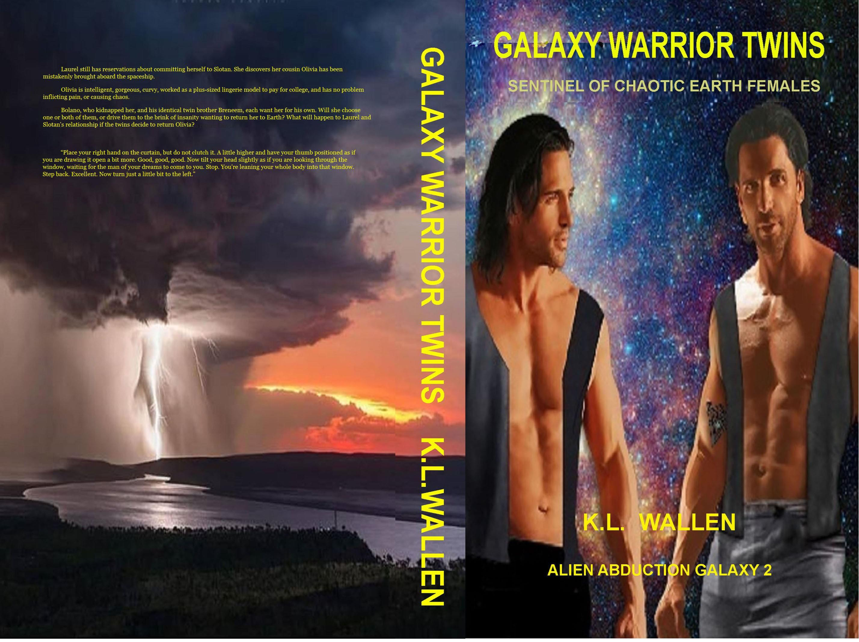 Galaxy Warrior Twins cover image