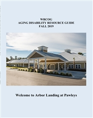 WRCOG AGING DISABILITY RESOURCE GUIDE FALL 2019 cover image