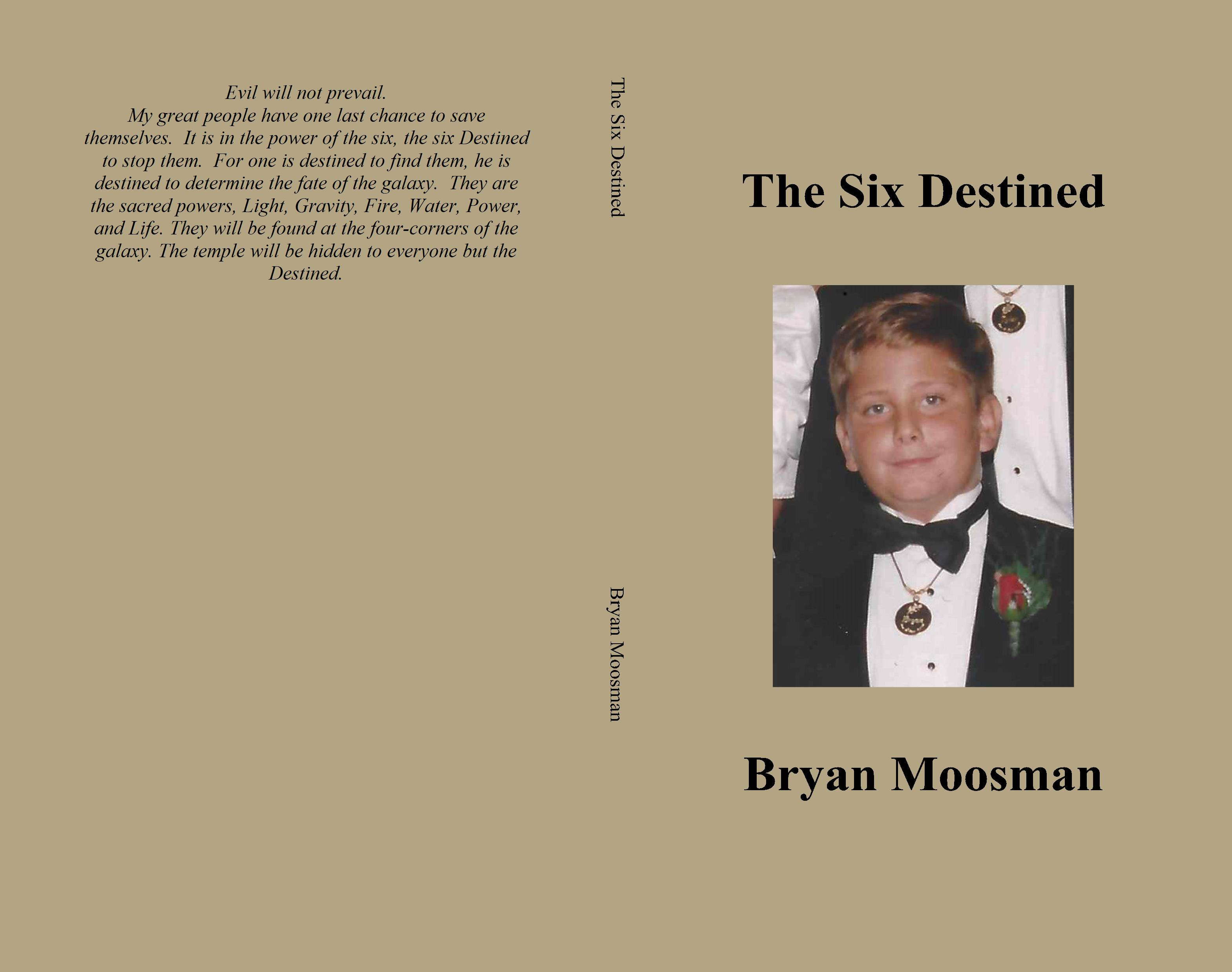 The Six Destined cover image
