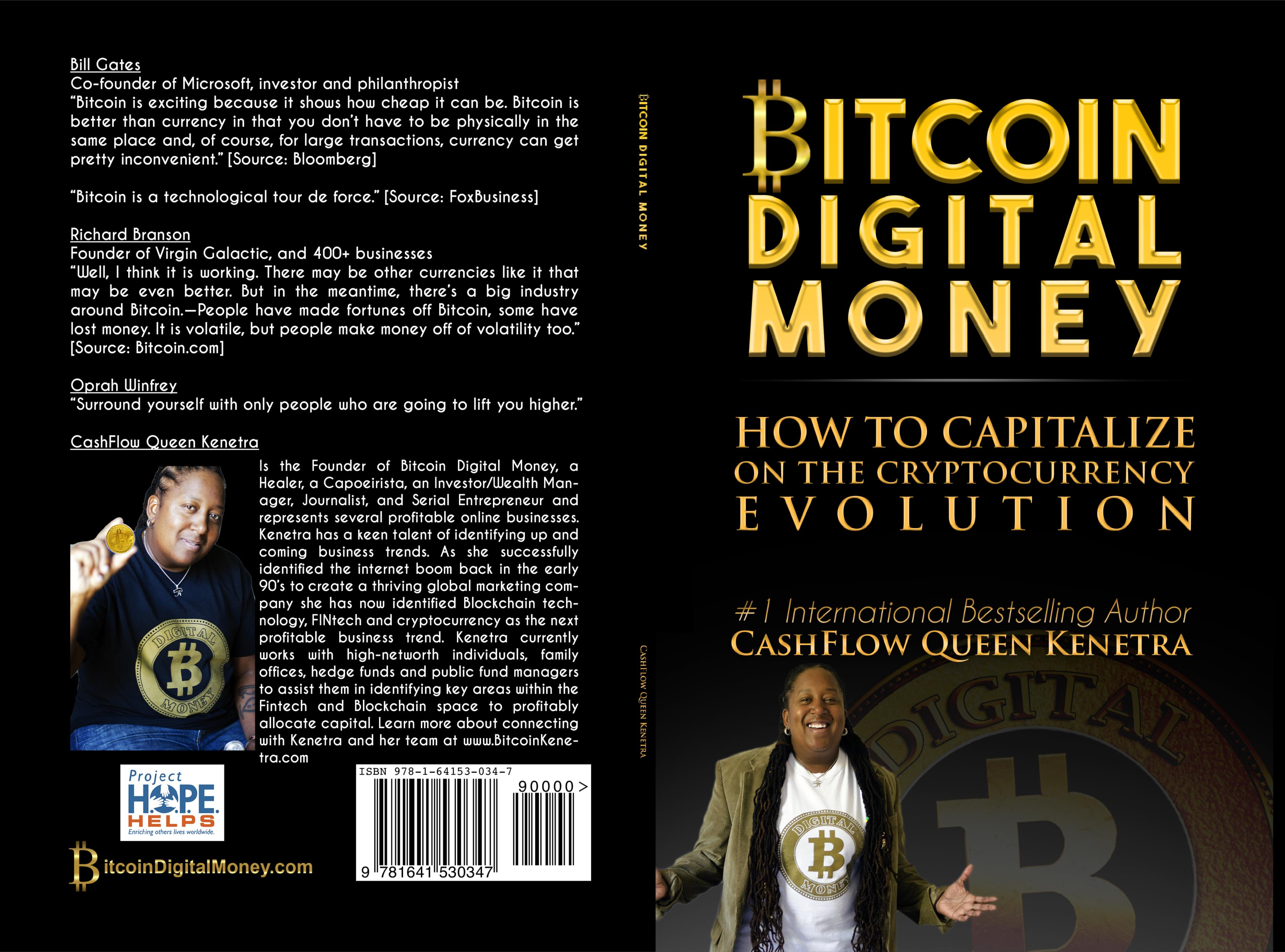 Bitcoin Digital Money  cover image