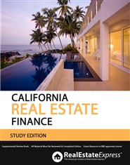 California Real Estate Finance (Study Edition) cover image