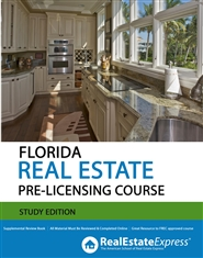 Florida 63 Hour Real Estate Pre-Licensing Course (Study Edition) cover image