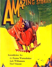 Amazing Stories 1930 March cover image