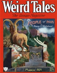 Weird Tales 1929 March cover image
