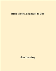 Bible Notes 2 Samuel to Job cover image