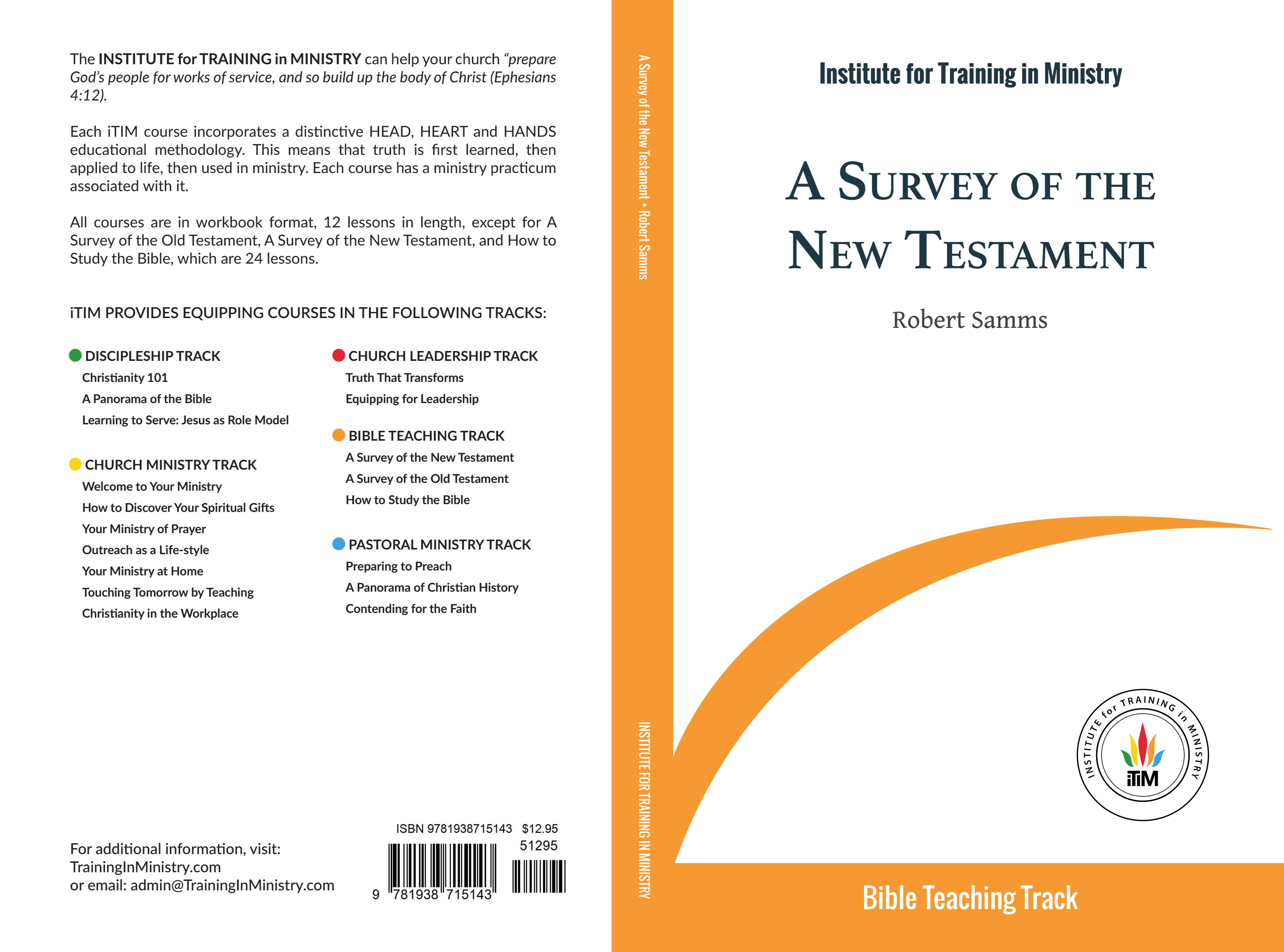 A Survey of the New Testament cover image