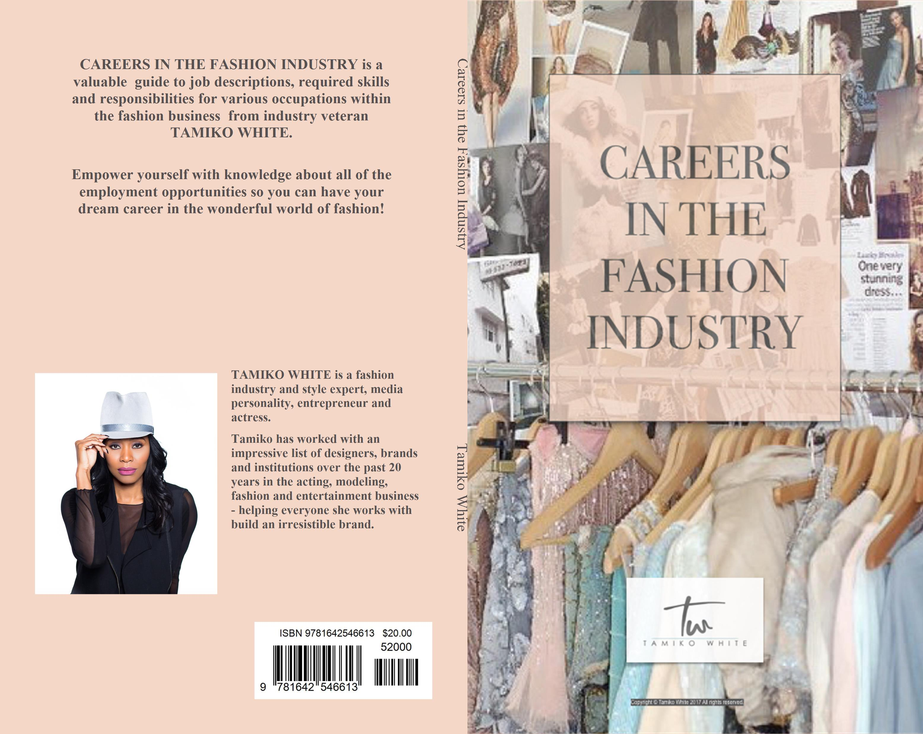 CAREERS IN THE FASHION INDUSTRY cover image