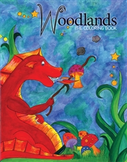 Woodlands: The Coloring Book cover image