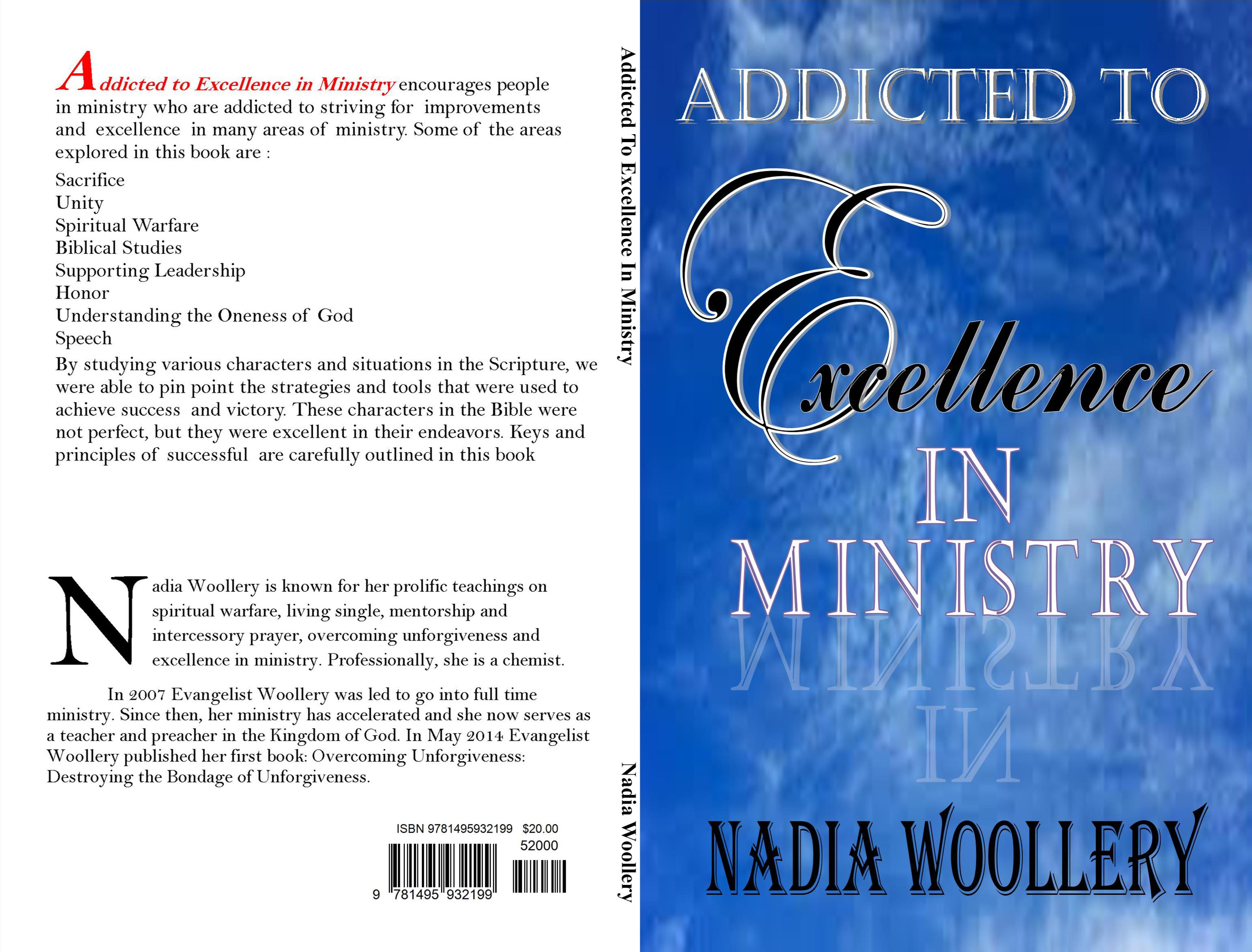 Addicted to Excellence in Ministry: Volume 1 cover image