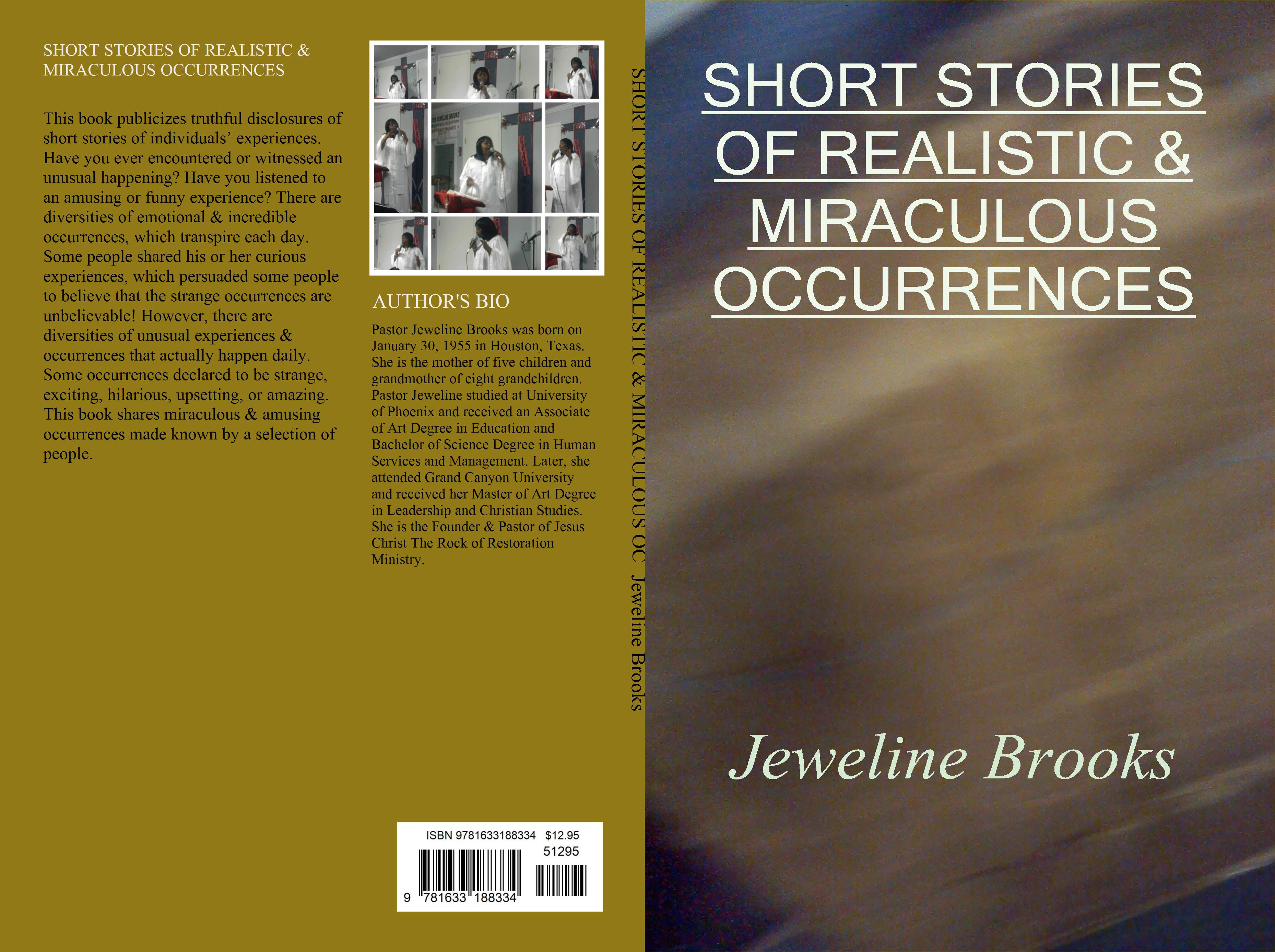 SHORT STORIES OF REALISTIC & MIRACULOUS OCCURRENCES cover image