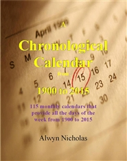 A Chronological Calendar cover image