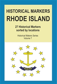 Historical Markers RHODE ISLAND cover image