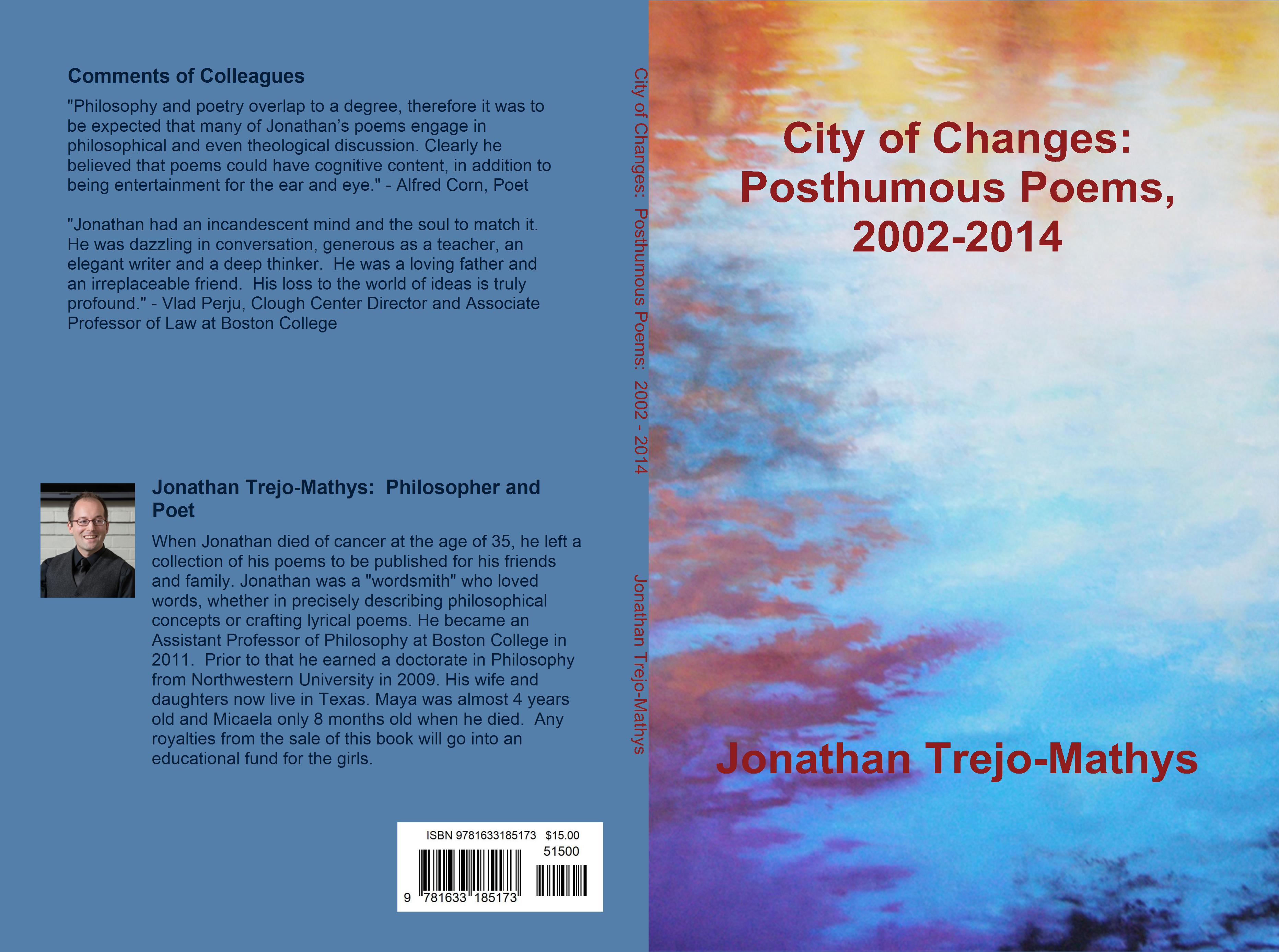City of Changes: Posthumous Poems, 2002-2014 cover image