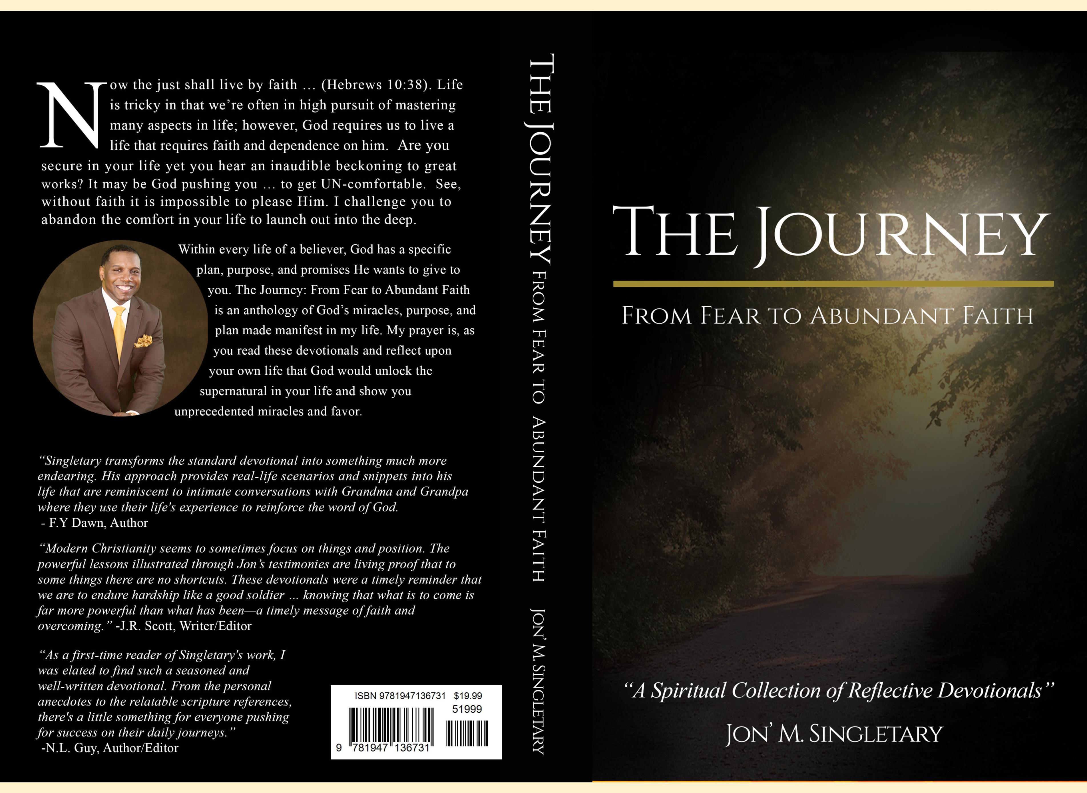 The Journey: From Fear To Abundant Faith cover image