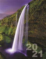 Seven Streams Weekly Monthly Planner Calendar 2021 cover image