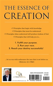 The Essence Of Creation - 7 Principals cover image