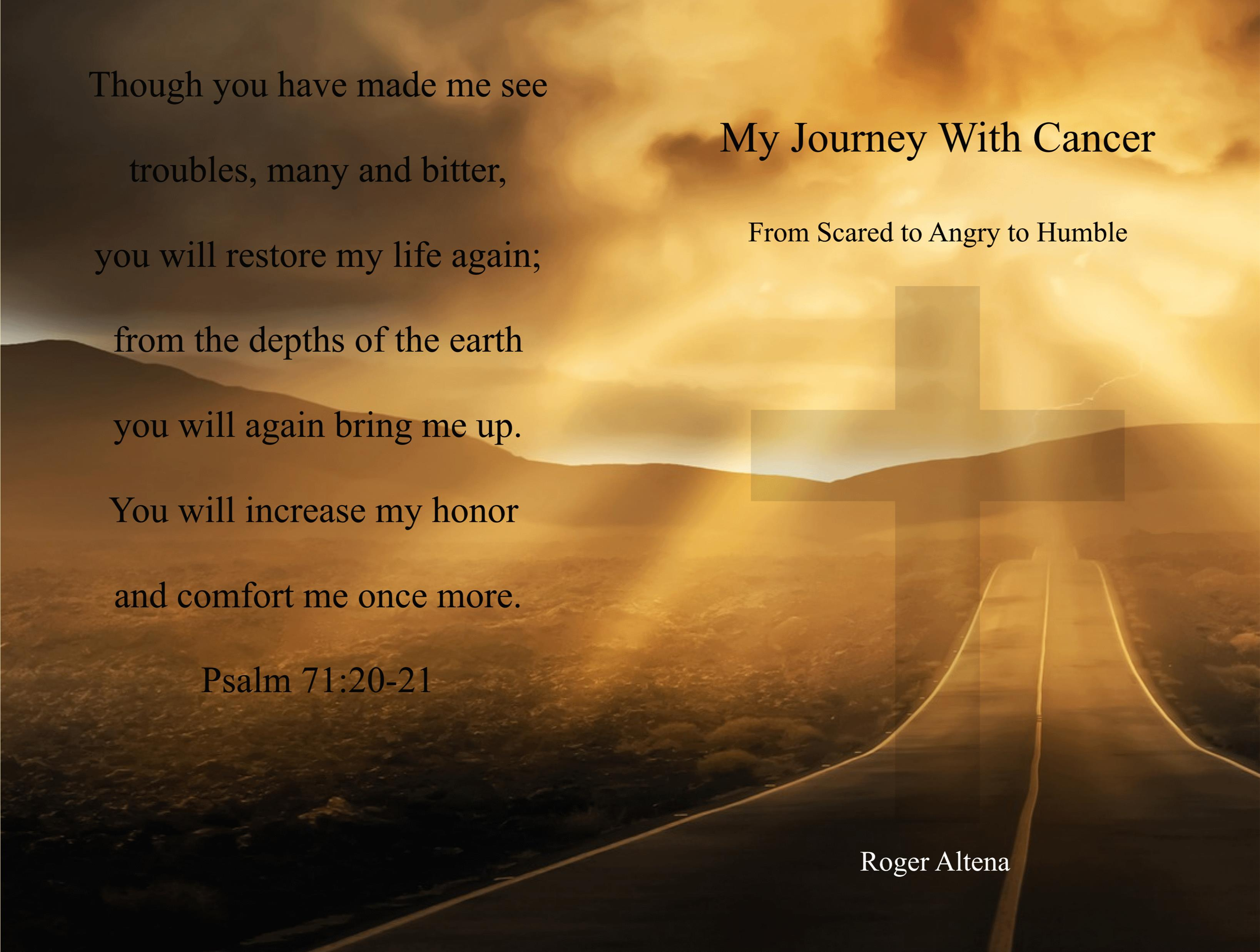 My Journey With Cancer cover image