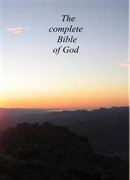The complete Bible of God cover image