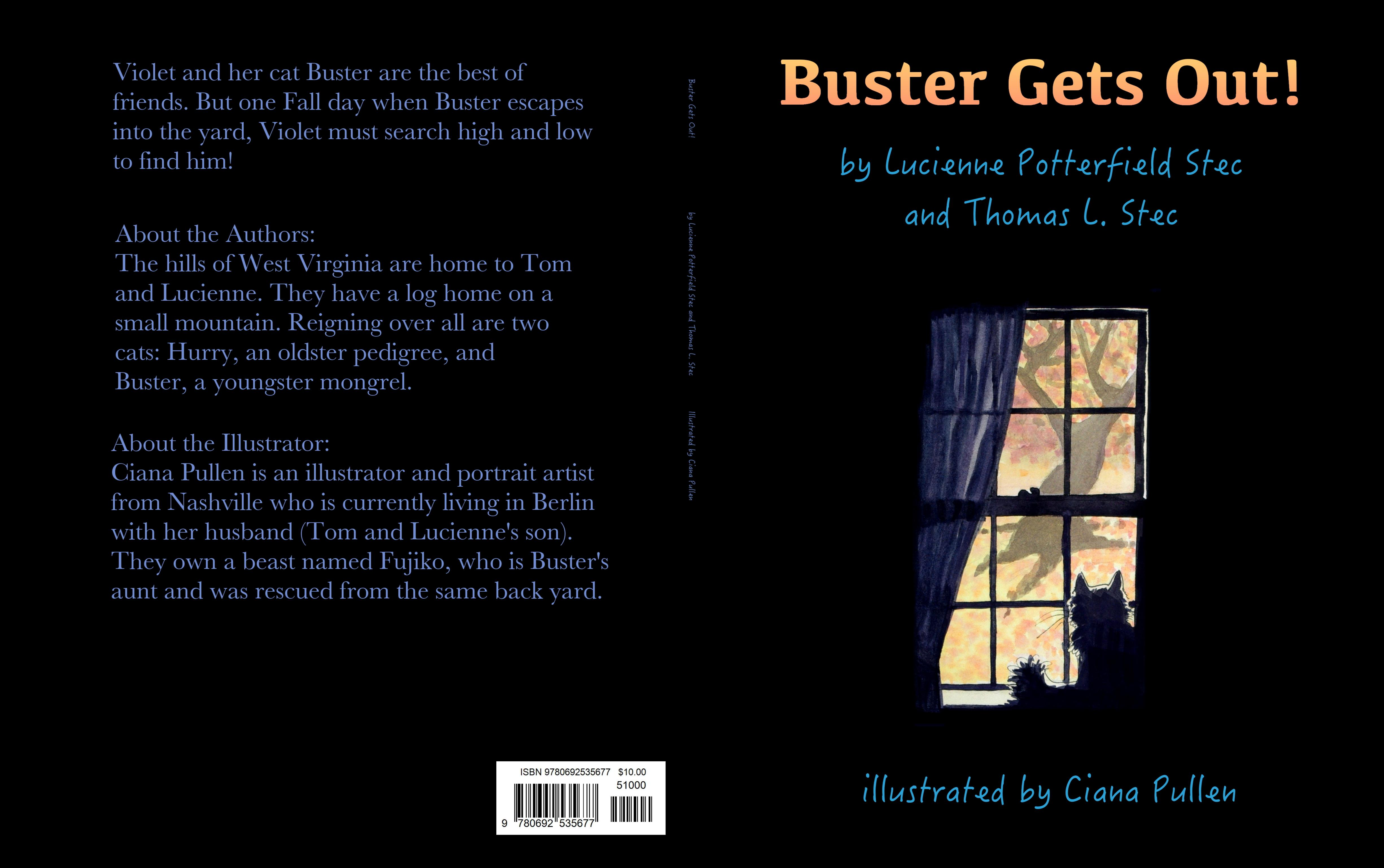 Buster Gets Out! cover image