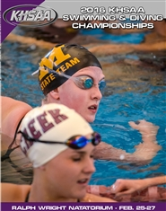 2016 KHSAA Swimming & Diving Championship Program cover image