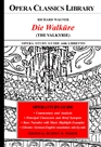 Richard Wagner DIE WALKÜRE (The Valkyrie) Opera Study Guide with Libretto cover image