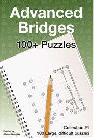 Advanced Bridges: 100 Challenging Puzzles #1 cover image