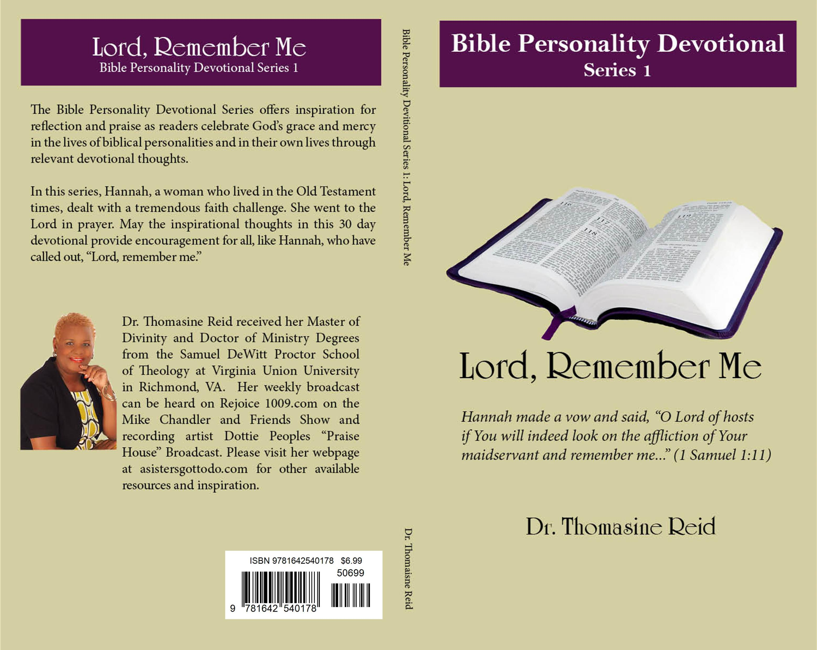 Lord, Remember Me - Bible Personality Devotional Series cover image