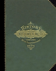 History of Northumberland County, Pennsylvania cover image