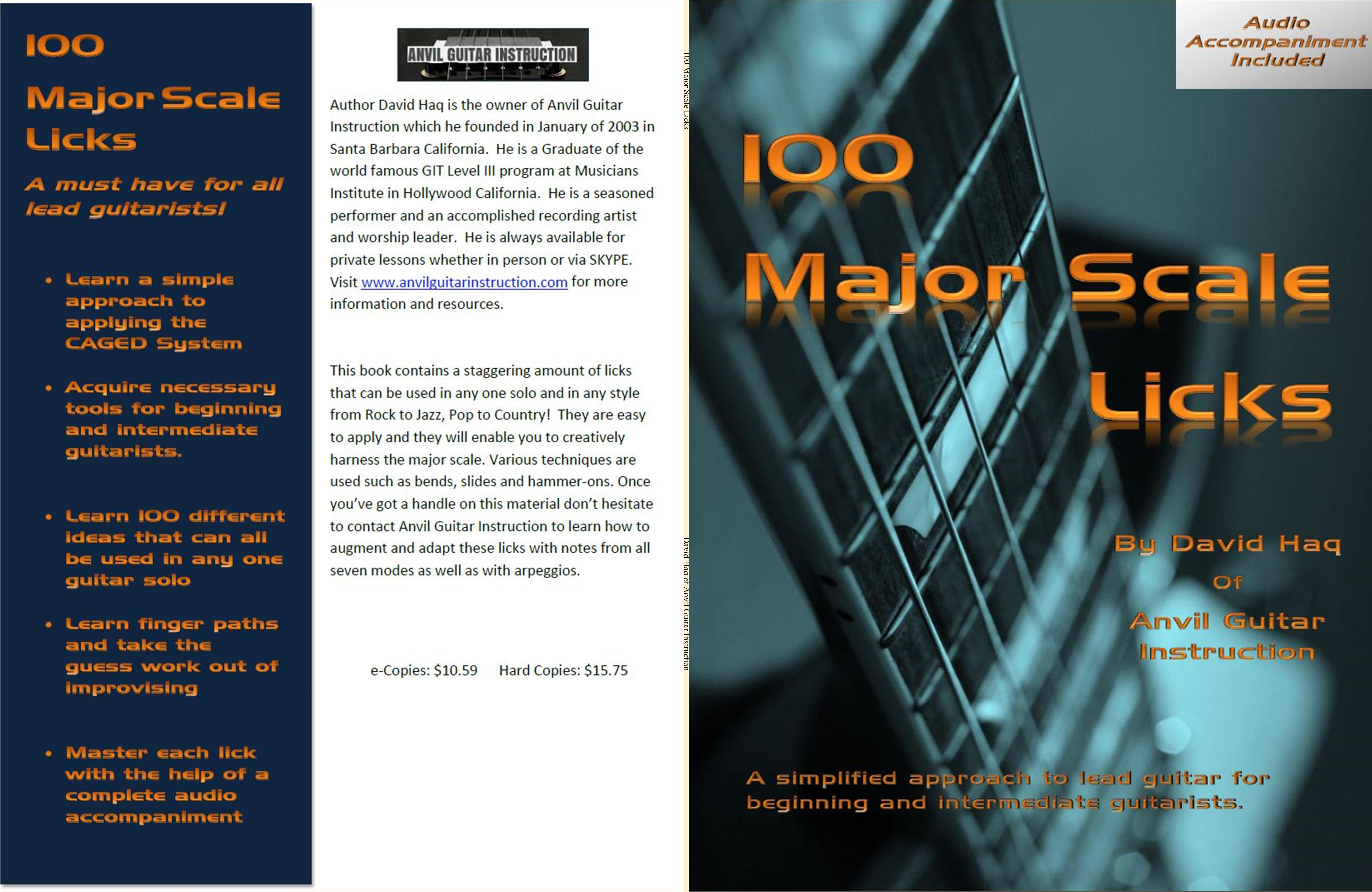 100 Major Scale Licks cover image