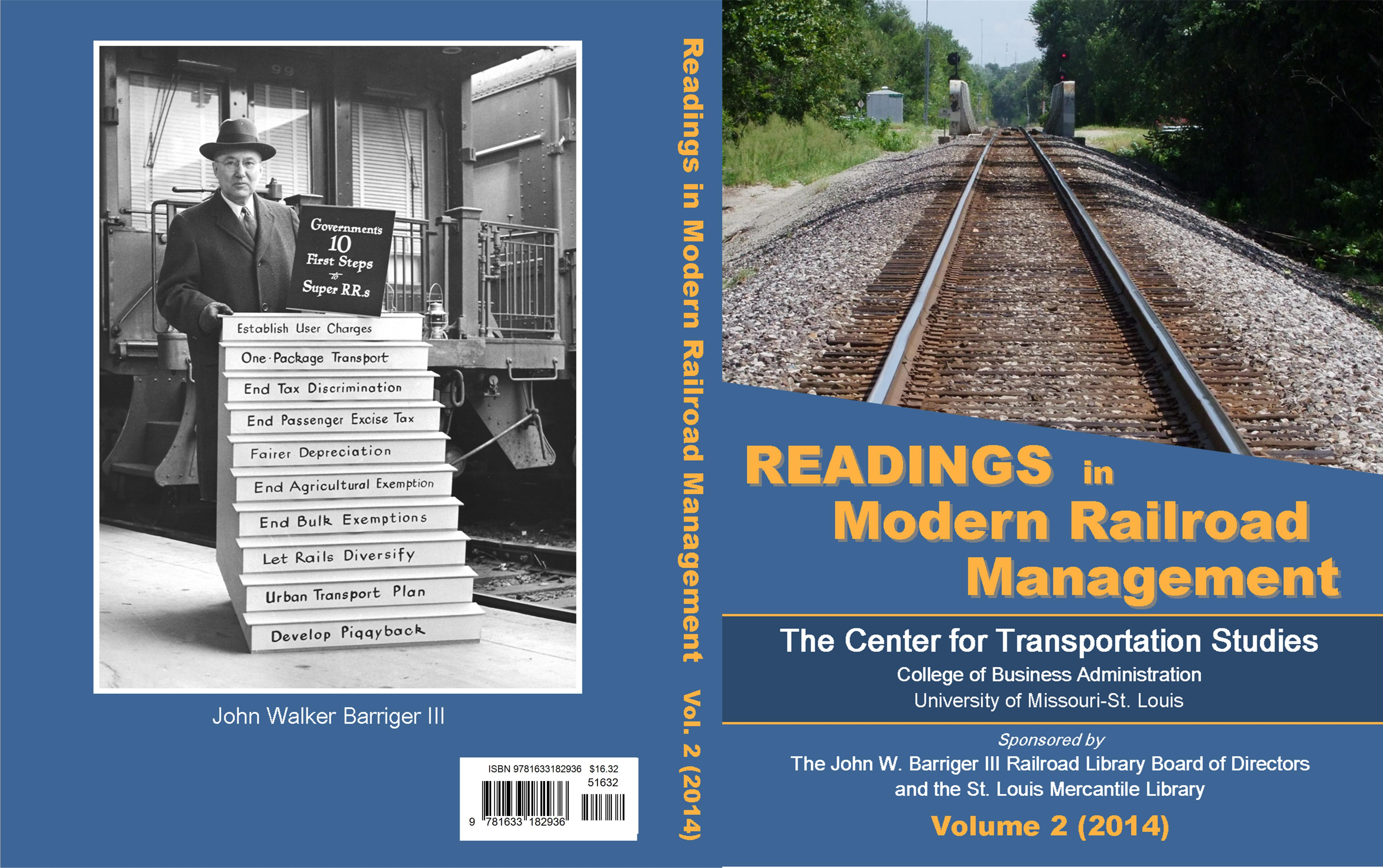 Readings in Modern Railroad Management, Volume 2 cover image