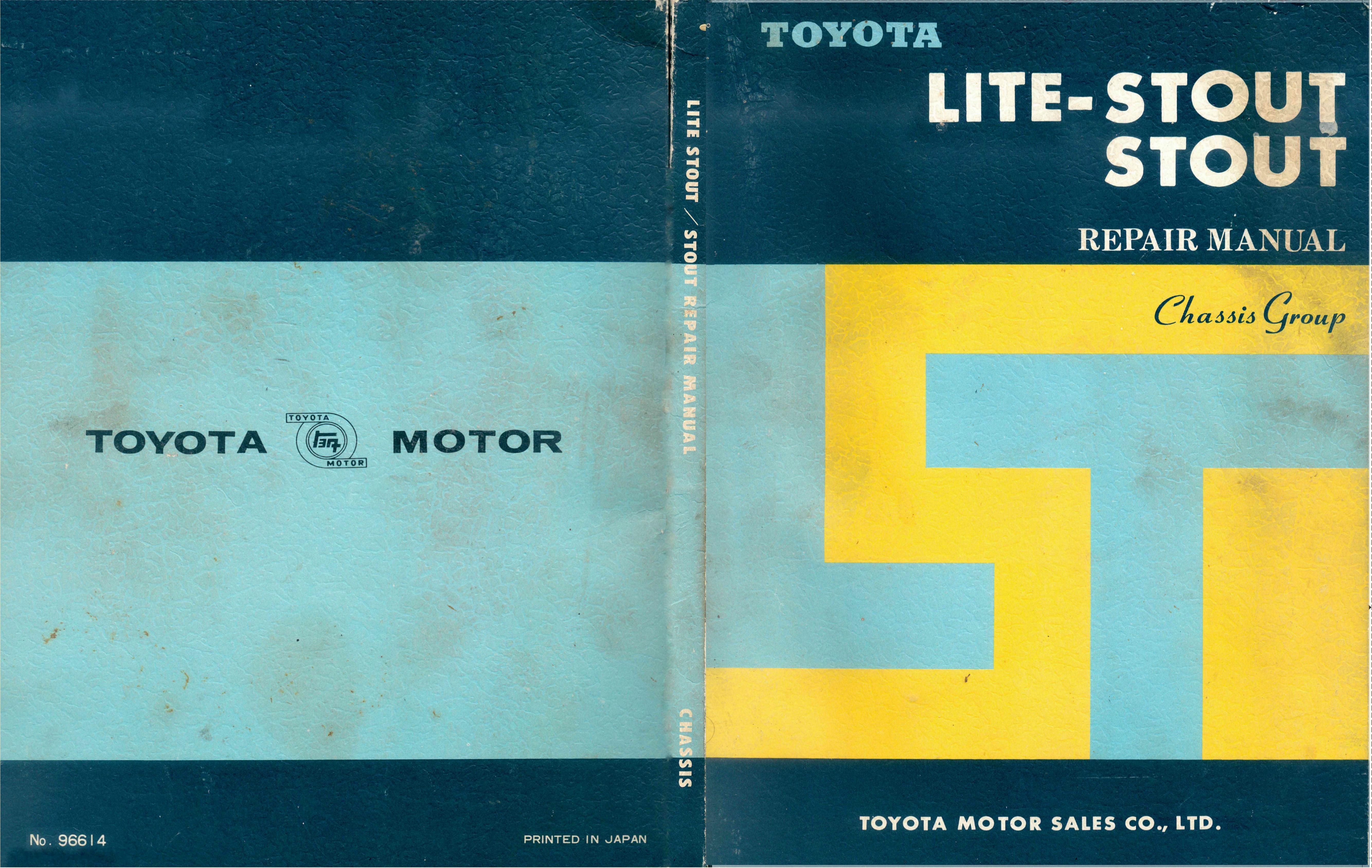 toyota stout engine manual ebook