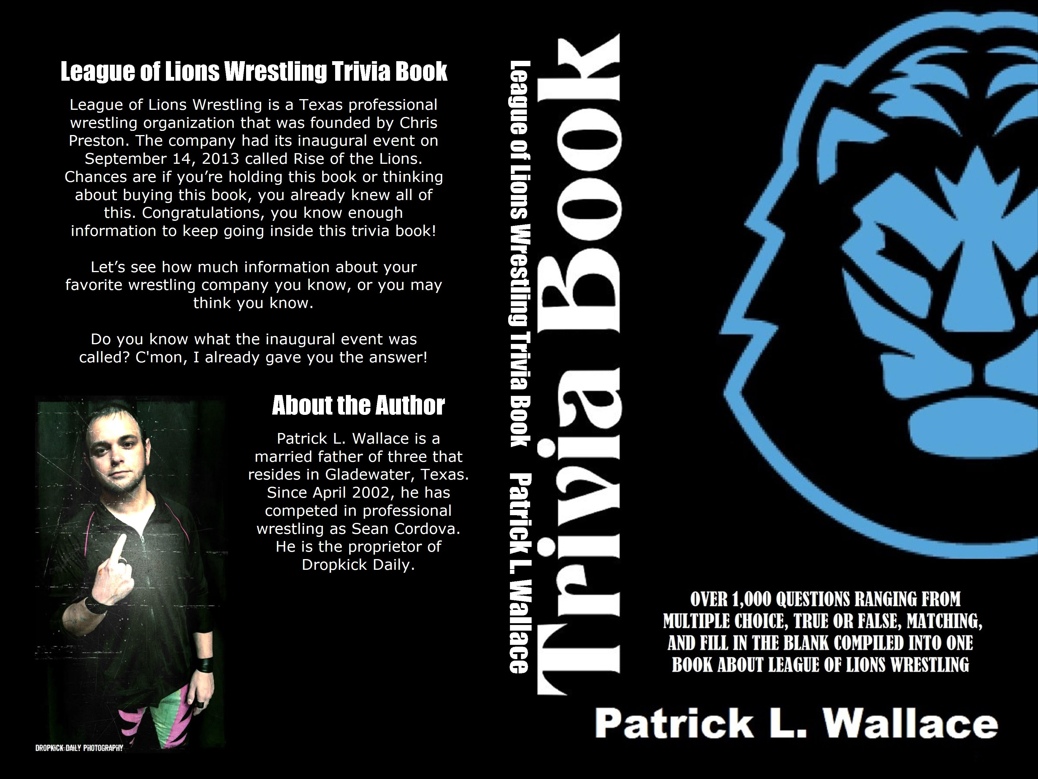 League of Lions Wrestling Trivia Book cover image