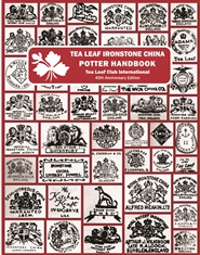 Tea Leaf Ironstone China Potter Handbook - 40th Anniversary Edition - 2019 cover image