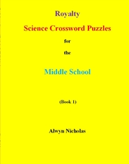 Royalty Science Crossword Puzzles for the Middle School cover image