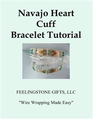 Navajo Heart Cuff Bracelet Tutorial cover image