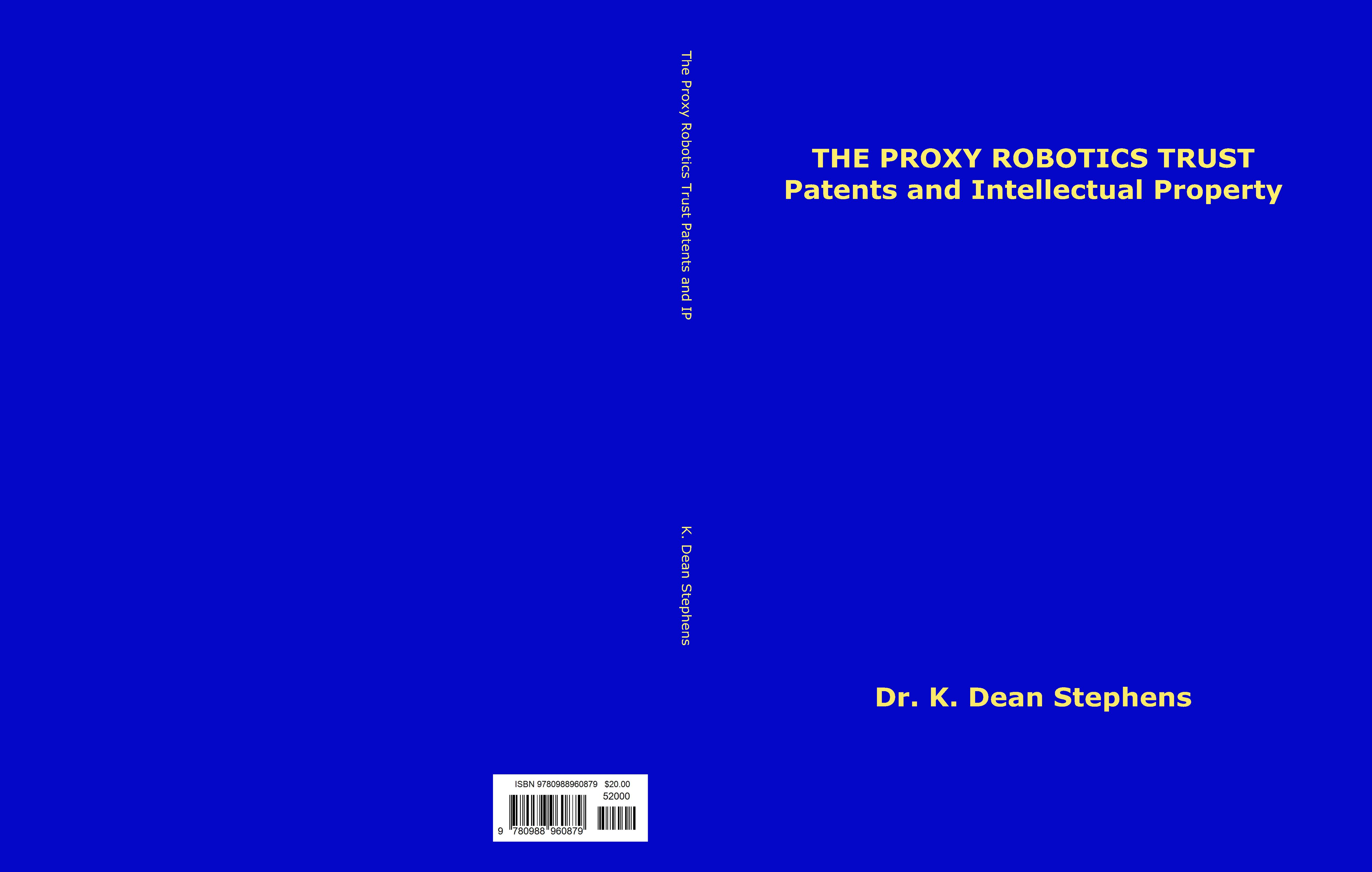 The Proxy Robotics Trust Patents and Intellectual Property cover image