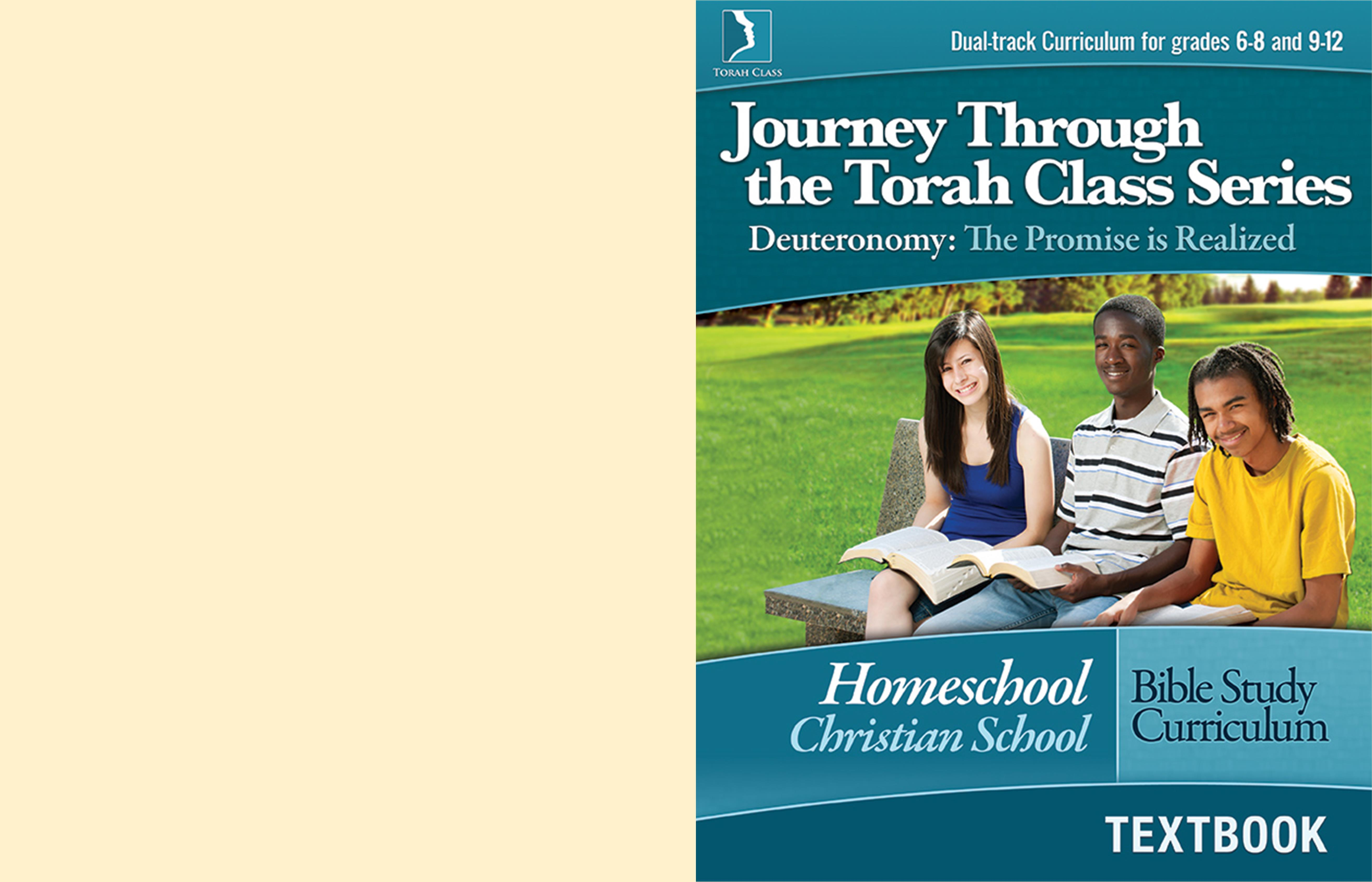 Deuteronomy: The Promise is Realized, Homeschool Textbook cover image