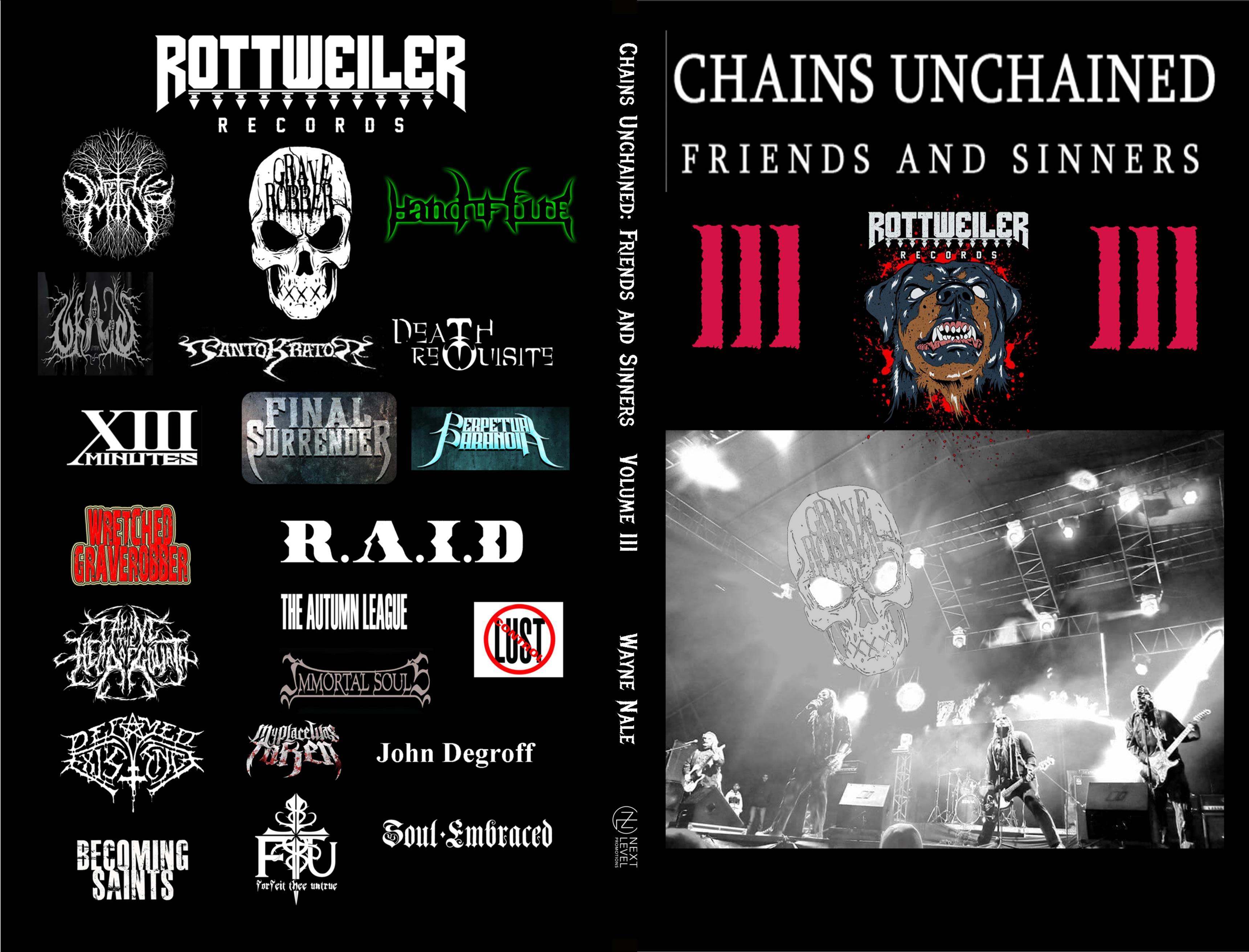 Chains Unchained: Friends and Sinners Volume III cover image