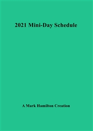 Mini Day Schedule Spiral Style cover image